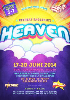 heaven poster eaglekidz