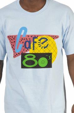 Cafe 80s Shirt