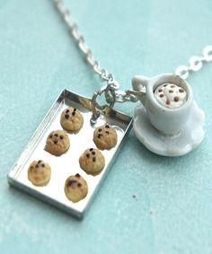 galletas y capuchino de collar - Encantos Jillicious y accesorios - 1