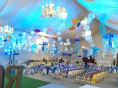 Tropical-Under-The-Sea-Adventure-Party-Tented-Arch #babyshowerideas4u #birthdayparty #babyshowerdecorations #bridalshower #bridalshowerideas #babyshowergames #bridalshowergame #bridalshowerfavors #bridalshowercakes #babyshowerfavors #babyshowercakes
