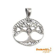 Baum des Lebens Anhänger, oval, sterling silver hier gehts zum #samaki #Schmuckstück: http://www.samakishop.com/epages/61220405.sf/de_DE/… Bedeutung: der Baum des Lebens ist ein altes Symbol der kosmischen Ordnung, der Erneuerung, auch der Fruchtbarkeit; seine Wurzeln verankern ihn tief in das Erdreich hinein, seine Krone wächst hoch und kraftvoll hinaus zu den Sternen und stützt den Himmel #baumdeslebens #Engelsrufer #Engelrufer #canpicafort #samakishop #samakioriginals