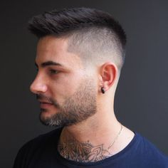 Short Hairstyles for Men 2018 https://www.menshairstyletrends.com/short-hairstyles-for-men-2018/  #menshair #menshaircuts #shortmenshair #menshairstyles #menshair2018 #fade #fadehaircuts #crop #texturedcrop #spikyhair #hairdesign #buzzcut