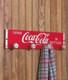 Coca Cola® Crate Sign Coat Rack|LTD Commodities