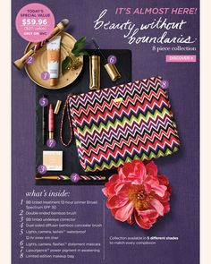 Tarte Beauty Without Boundaries Set on QVC.  Already ordered!!