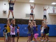 LOVE the very first stunt that goes from press to shoulder sit!!