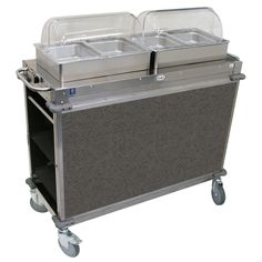 Mobile Hot Buffet Cart