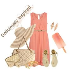 Pretty pastel dress