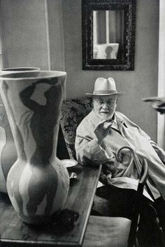 Henri Matisse, The Father of Collage Art- Paris. Photo by Henri Cartier-Bresson.