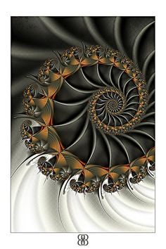 """Industrial Waste"" - fractal art by Lenora Clark, via artoflenoraclark"