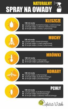 Na owady In Case Of Emergency, Diy Cleaners, Simple Life Hacks, Survival Tips, Good Advice, Better Life, Good To Know, Health And Beauty, Infographic