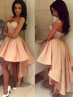 Asymmetrical Homecoming Dress 2018 Short Prom Drsess Juniors Homecoming Dresses SKY107