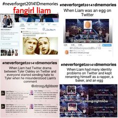 #NeverForget20141DMemories Twitter King