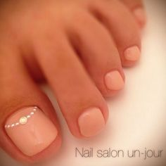 Adorable Toe Nail Designs for Women - Toenail Art Designs Simple Toe Nails, Pink Toe Nails, Feet Nails, Fancy Nails, My Nails, Nail Pink, Trendy Nails, Beach Toe Nails, Blush Nails