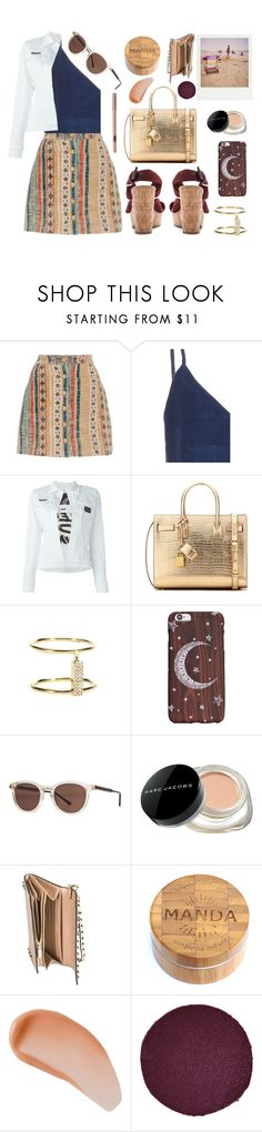 """""""Didn't we have ourselves some kind of a Summer..."""" by sue-mes ❤ liked on Polyvore featuring Tryb212, Christina Economou, Philipp Plein, Yves Saint Laurent, Ileana Makri, Thierry Lasry, Marc Jacobs, Polaroid, Valentino and Avène"""