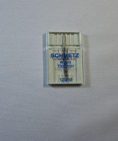 Schmetz Extra Wide Hemstitch Wing Needle Siz 120/19 - Sewing Needles & Pins