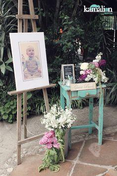 www.kamalion.com.mx - Decoración / Guestbook / Lila & Gris / Lilac & Gray / Vintage / Rustic Decor / Wedding / Boda / Bautizo / Máquina de Escribir.