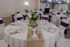 Table Runners Wedding Reception