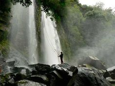 Waterfall Rapelling - Manuel Antonio, Costa Rica