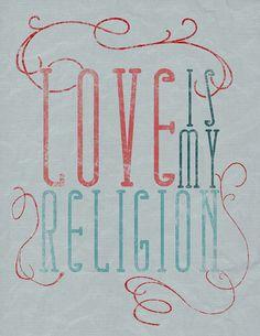 Love Is My Religion - The Cab by Monique Wilmoth - 'jaigurudevaom_'
