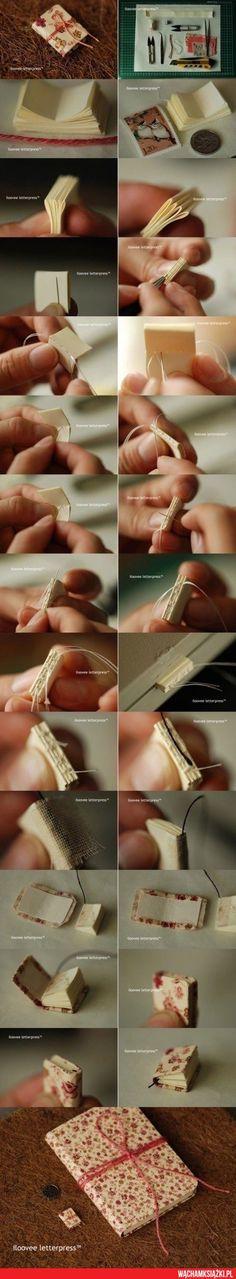 Jak zrobić mini książkę