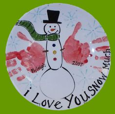 I love you snow much
