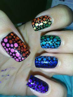 Rainbow dots! - Imgur