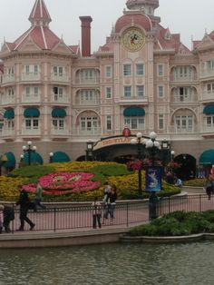 I like Disneyland because I want to get to a fairy tale