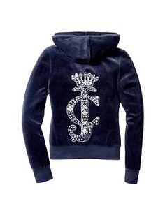 juicy couture hoodie <3