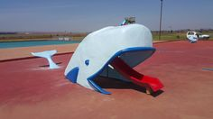 Whale water feature slide Wendy House, Jungle Gym, Water Features, Riding Helmets, Whale, Boat, Fun, Water Sources, Whales