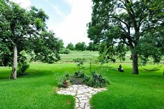 4302 Colony West Dr Richmond, TX 77406: Photo This is the view just beyond the pool. That is Jones Creek. Jones Creek is regulated by the river authority. This is a beautiful sloped piece of property.