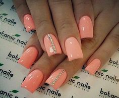 coral pink summer nails 2014 kelowna gel nails and uv gel manicures kelowna o Summer Nails 2014, Pink Summer Nails, Spring Nails, Autumn Nails, Purple Nails, Black Nails, White Nails, Summer 2016, Coral Acrylic Nails