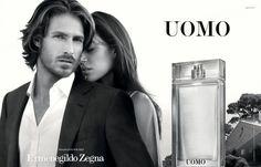 Ryan Burns Fronts Ermenegildo Zegna's Uomo Fragrance Campaign