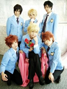 usually in a group one person holds it back... but ouran wins