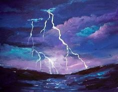 Lightning at Sea