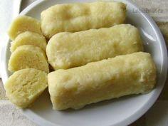 Bramborové knedlíky zhorkých brambor (bez vejce)