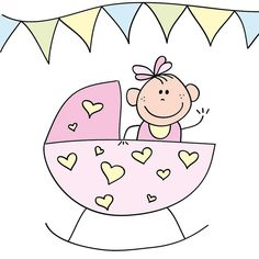 Baby girl in crib by Cieleke, via Flickr