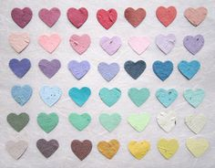 Hearts by Peter and Mimi on Etsy