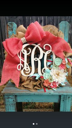 Love love love. Hospital wreath
