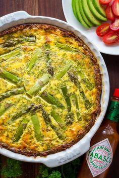 Spicy Sausage Asparagus Quiche (VIDEO)Follow for recipesGet your  Mein Blog: Alles rund um Genuss & Geschmack  Kochen Backen Braten Vorspeisen Mains & Desserts!
