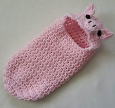 Check out this item in my Etsy shop https://www.etsy.com/listing/274786972/cocoon-hooded-bunting-pig-newborn