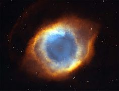 The Eye of God, double Nebula, picture by Nasa