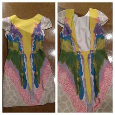 Tibi watercolor dress