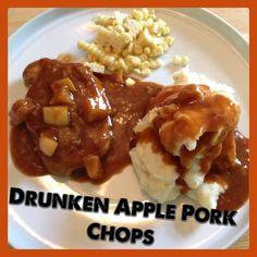 Drunken pork chops, Samuel adams and Chicken thighs on Pinterest
