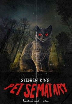 [Streaming] Pet Sematary Online Englisch FullMovie - New Sites Pet Sematary, Horror Movie Posters, Movie Poster Art, Stephen King Movies, Rock Poster, Horror Monsters, Classic Horror Movies, Chef D Oeuvre, Alternative Movie Posters