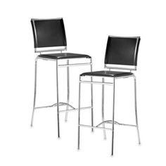 Zuo Modern Soar Bar Chair (Set of 2) - BedBathandBeyond.com