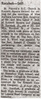 Genealogical Gems: On This Day: My parents married