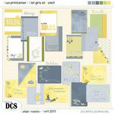 Le blog du forum DCS: les petites cartes de printemps