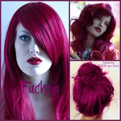 Fuchsia Hair!