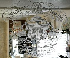 The IOD Decor Transfer makes a huge difference in my room! They go onto surfaces so easily and beautifully! Upcycled Furniture, Painted Furniture, Diy Furniture, Orchard Design, Diy Mirror, Mirror Crafts, Iron Orchid Designs, Vintage Mirrors, Mirror Painting