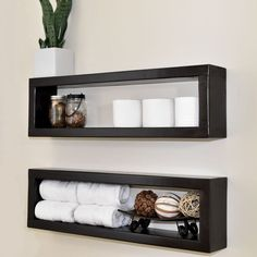 This storage idea costs just $7 to make, but it'll make you smile whenever you see it in your bathroom!